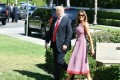 Trump, Melania attend Easter service in Palm Beach
