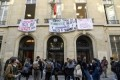 Top French university Sciences Po blocked by students
