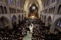 Barbara Bush funeral draws 1,500, including 4 former presidents