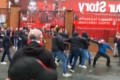 Liverpool - AS Rome : violent affrontements entre supporters avant le match (vidéo)