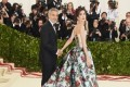 George Clooney Jokes Their Twins Are Under Amal's Outfit at Met Gala