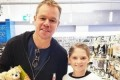 Matt Damon hits up Kmart in Australia
