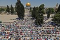 Tens of thousands pray at Al-Aqsa on first Friday of Ramadan