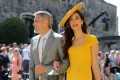 Amal Clooney Is Sunshine at the Royal Wedding
