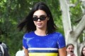 Kendall Jenner wore a beaded, $11k minidress and sneakers for a casual daytime stroll