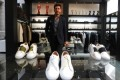Syrian refugee launches luxury sneaker brand in France