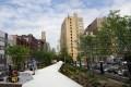 Philadelphia railroad ruins transformed into elevated park