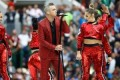 Robbie Williams reveals reasoning behind World Cup vulgar gesture