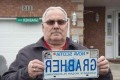 Grabher wins $750 amid licence plate battle