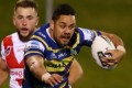 Hayne returns to form for Eels in NRL