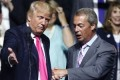 Downing Street 'bans Donald Trump from meeting Nigel Farage' during visit to Britain next week