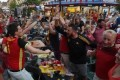 France-Belgique : le duel des supporters