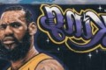 LeBron 'King of LA' Mural Vandalized After Lakers Fan Offered Money to Make it Happen
