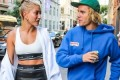 Justin Bieber kisses fiancee Hailey Baldwin in shirtless snap