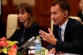 Jeremy Hunt makes gaffe about wife in China