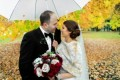 4 Real Couples Share Their Rainy Wedding Stories