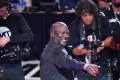 Michael Jordan stands with LeBron James after Donald Trump's Twitter insults