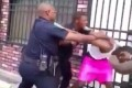 Baltimore cop on paid leave after viral video shows him beating a man