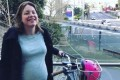 42 weeks pregnant, New Zealand minister cycles to hospital