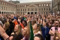 Irish president signs 'abortion law repeal'