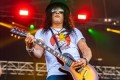 Slash bans ex-wife Perla Ferrar from teenage son London's Hollywood concert... but she still plans on attending