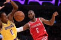 Lakers, Rockets brawl in LA; Chris Paul, Rajon Rondo, Brandon Ingram ejected
