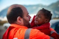 Spanish rescuers recover dead baby, save 520 migrants at sea