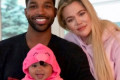 Khloé Kardashian and Tristan Thompson Spend Baby True's First Halloween Together as a Family