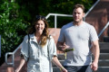Chris Pratt and Katherine Schwarzenegger Step Out on Same Day Actor Settles Anna Faris Divorce