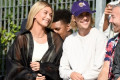 Hailey Baldwin Proudly Flashes Her New 'Bieber' Necklace