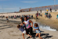 Border crossing closed after migrants try entering U.S.