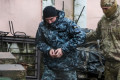 Captured Ukrainian sailors seen on Russian TV apparently confessing to 'provocative' actions