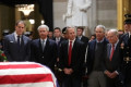 Jack Nicklaus, Phil Mickleson, Fred Couples and other golf legends honor President George H. W. Bush at memorial service