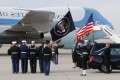 Nation bids goodbye to Bush with high praise, cannons, humour