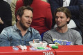 Chris Pratt Attends Clippers Game With Katherine Schwarzenegger's Brother Patrick