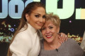 Jennifer Lopez's mother gets hit in face by overzealous autograph hunter after crowd gathers outside studio