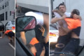 Road rage brawl spills onto Sydney road
