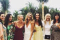 'My girls': Jasmine Yarbrough shares a never-before-seen photo from her wedding to Karl Stefanovic in Mexico - as her husband's TV empire falls apart