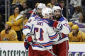 Rangers snap skid with impressive win over Preds