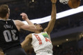 Lopez has 25, Giannis monster dunk as Bucks beat Pistons