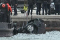 3 dead after SUV crashes into river during police chase