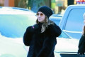 Jennifer Aniston bundles up in furry black coat while exploring Jackson Hole, Wyoming with pal Jimmy Kimmel