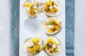 Mexican Street Corn Deviled Eggs