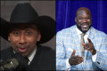 Shaq tried to prank Stephen A. Smith's radio show to defend Cowboys