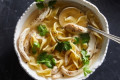 The Ultimate Chicken Noodle Soup Only Needs 2 Ingredients