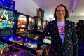 'It's addicting': Edmonton-area man transforms garage into vintage arcade