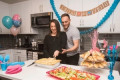 As cheesy as it gets! New Jersey eatery creates gender reveal LASAGNA filled with blue or pink ricotta for couples looking for a savory way to unveil their unborn child's sex
