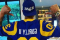 Machado cheers on Rams, sports Dodgers hat during Super Bowl