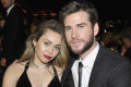 Liam Hemsworth Brags About Miley Cyrus' Blinged-Out Wedding Ring: 'I Thought It Was CGI'