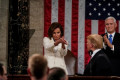 Pelosi's daughter says her mother's viral clap at Trump 'took me back to the teen years'